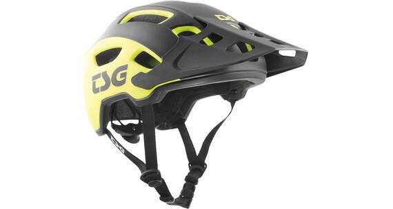 TSG Trailfox Graphic Design casco per bici giallo